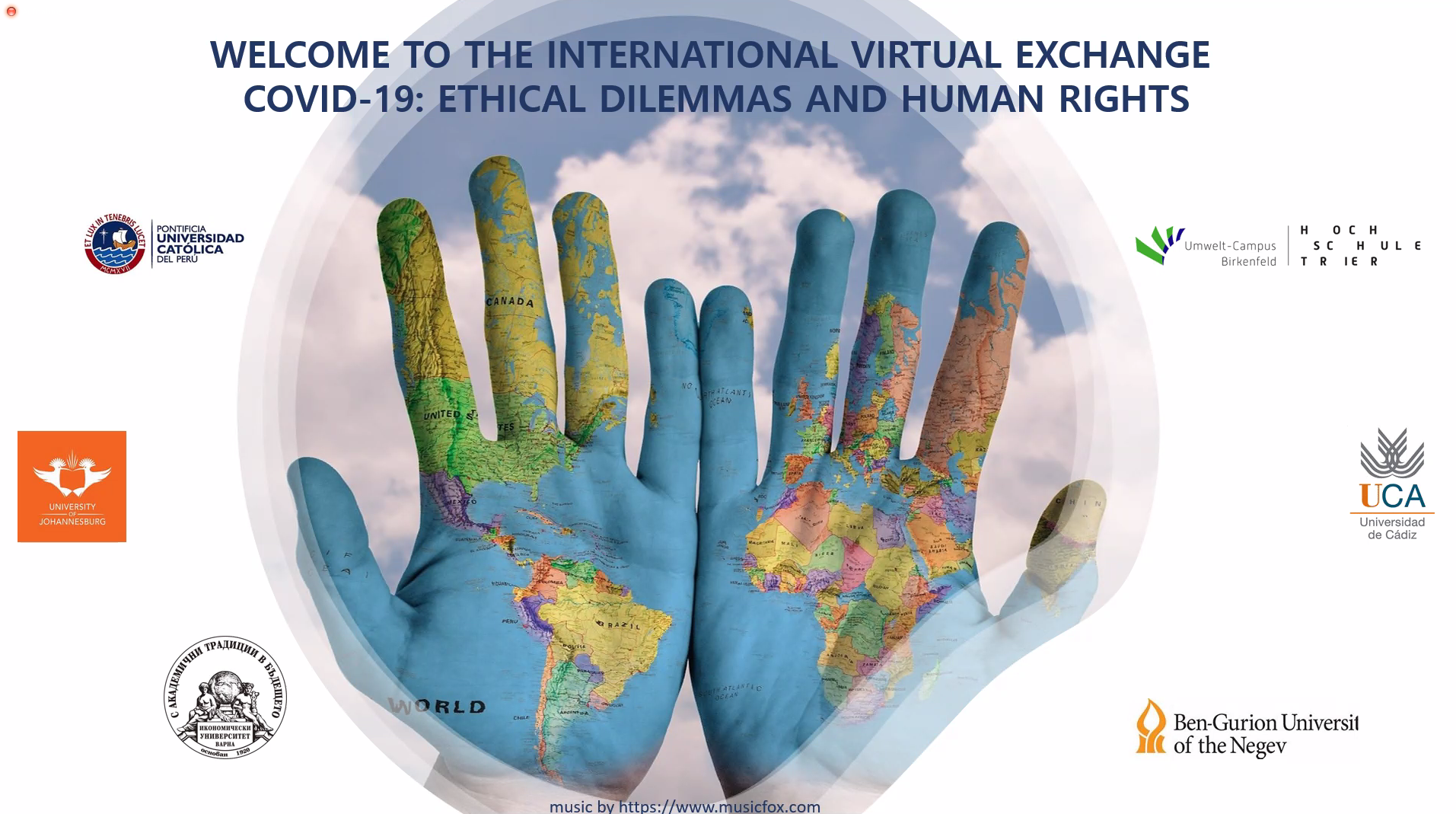 """""""International Virtual Exchange: COVID-19: Ethical Dilemmas and Human Rights"""""""