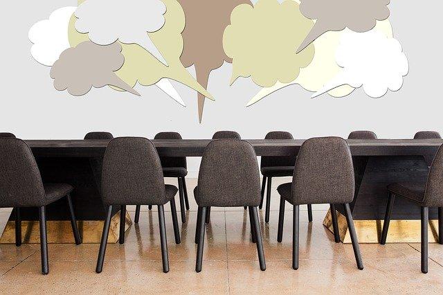 Stammtisch, Konferenz, Besprechung