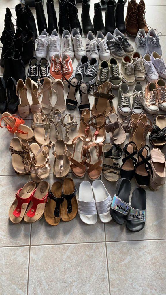 Schuhrepertoire von Annika M. (Foto: S. Bouillon)
