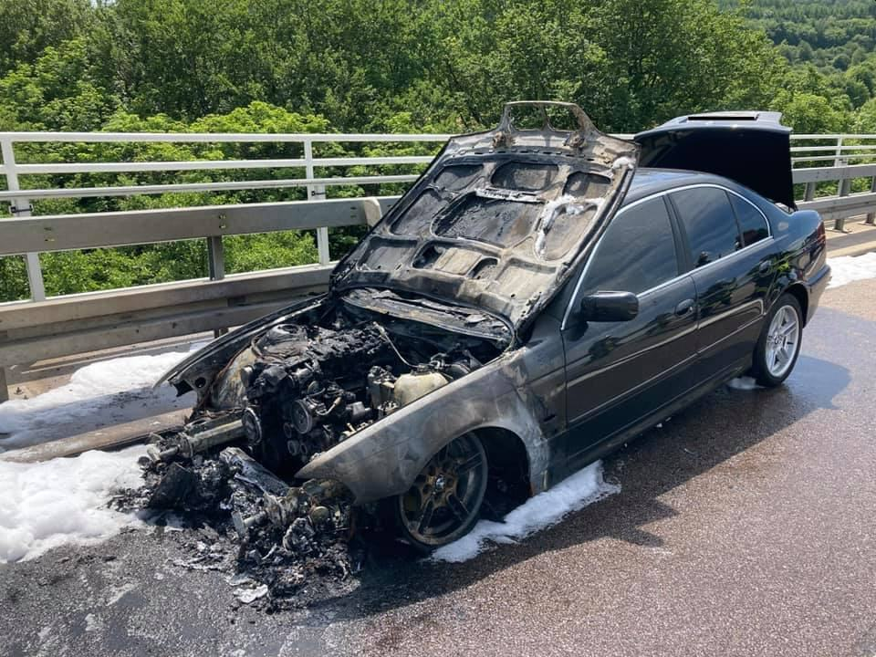Fahrzeugbrand Primstal A1