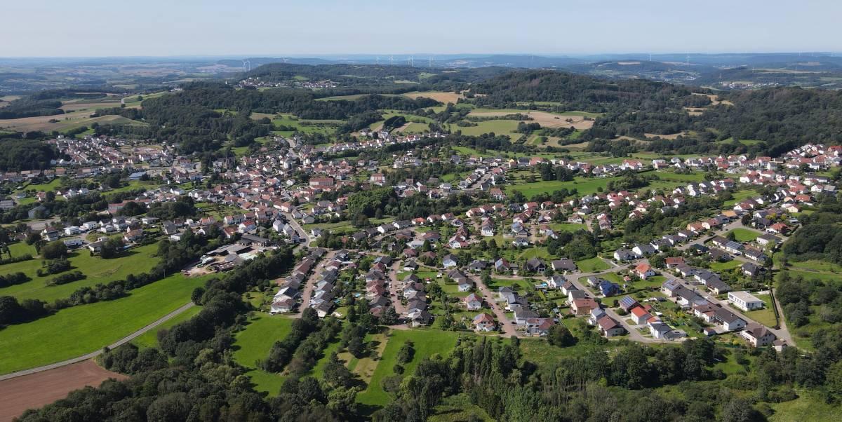 Luftbild-Hasborn-Dautweiler